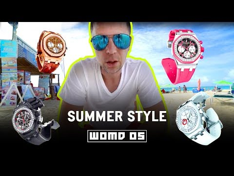 WOMB 05 l Perfect Summer &  Beach Watches from Rolex and Audemars Piguet