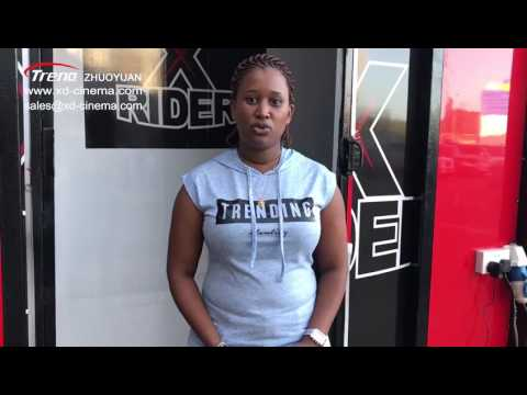 Profitable 9 seats mobile 7d cinema in Kenya
