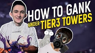 GeneRaL: How to gank under Tier3 towers