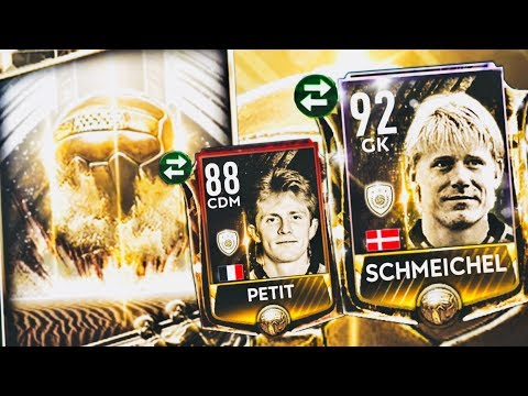 ICONS TOURNAMENT! We got Icon petit and Schmeichel- Highest wins rewards,icons gameplay fifa Mobile thumbnail