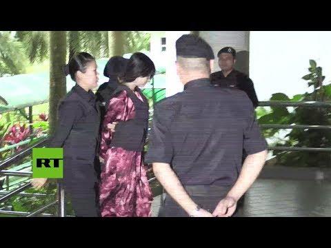 RT en Español: Las dos acusadas por el asesinato del hermano de Kim Jong-un vuelven a presentarse ante la justicia