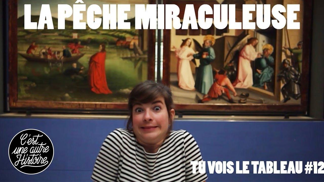 MIRACLES ! La pêche miraculeuse et la marche sur les eaux - Tu vois le tableau #12 au MAH de Genève