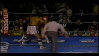 Legends Roberto Duran vs Pipino Cueves -Jan. 1983