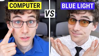 Computer Glasses VS Blue Light Glasses  Which Do You Need