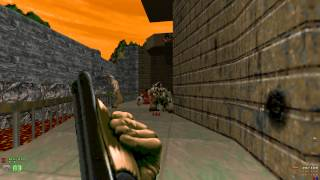 DooM 2 The Darkening E2 - MAP09 Hard Core - Ultra Violence