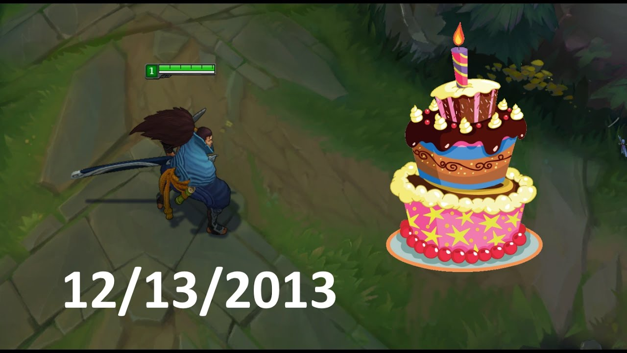 Lol Best Moments 125 Happy Birthday Yasuo League Of Legends Youtube