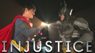 BATMAN vs SUPERMAN - INJUSTICE MUSIC VIDEO BATTLE