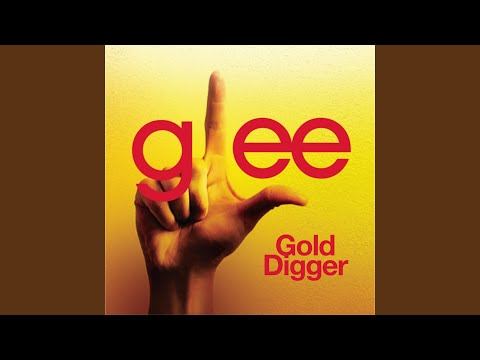 Gold Digger Glee Cast Version