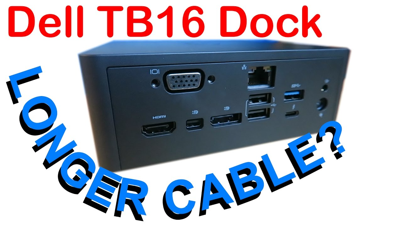 Replace Dell Dock TB16 TB15 K16A Cable Thunderbolt USB-C cable for Dell Dock