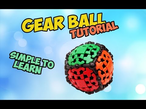 How to Solve Gear Ball- Easiest method