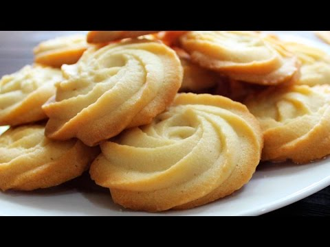 MELTING MOMENTS Cookies Recipe ♥ Eggless Butter Cookies From Scratch ♥ Tasty Cooking