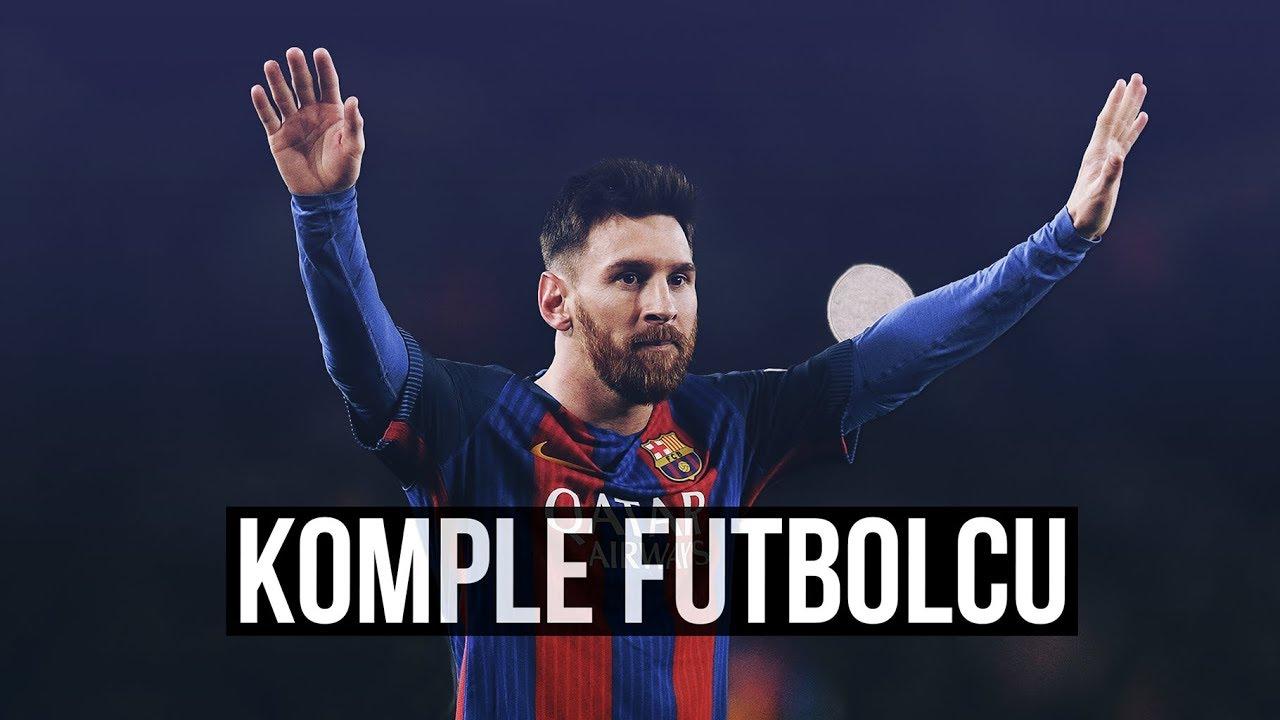 Lionel Messi - 'KOMPLE' Futbolcu • HD