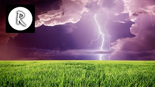 12 Hours Thunder and soft rain - nature sound for sleep, study, relaxation