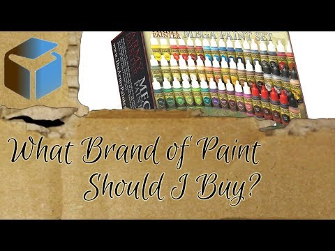 Beginner's Guide to Miniature Painting: What Brand of Paint Should I Buy?