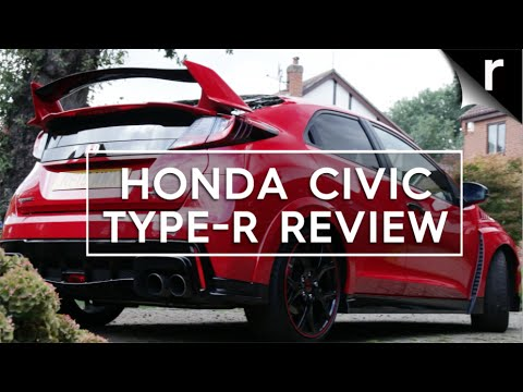 Honda Civic Type R review: Winged demon - YouTube