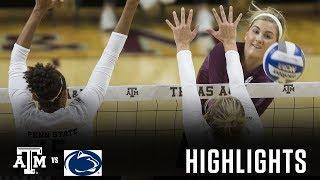 Volleyball Highlights | Texas A&M vs. Penn State thumbnail