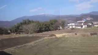 唐津線の車窓から 小城→東多久