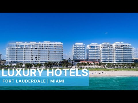 Tour Eight Luxury Miami Beach & Fort Lauderdale Florida Hotels