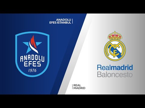 Anadolu Efes Istanbul - Real Madrid Highlights | Turkish Airlines EuroLeague RS