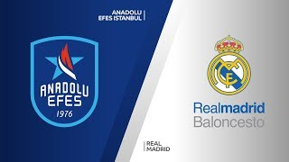 Anadolu Efes Istanbul - Real Madrid Highlights | Turkish Airlines EuroLeague RS Round 11