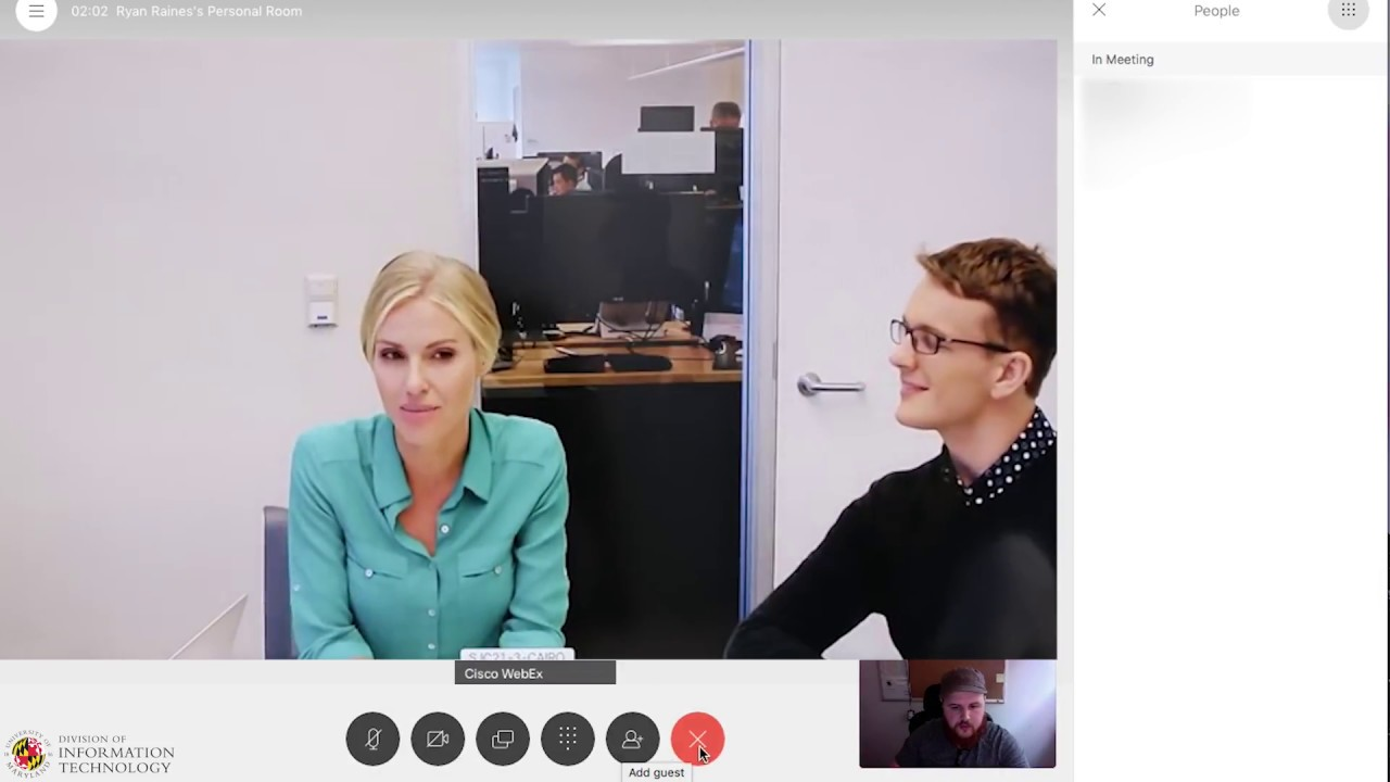 Webex Teams - Connecting to a Webex Meeting From Webex Teams