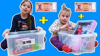 Cumpara ce vrei de 200lei Ce va cumpara un copil de 3 ani si unul de 7 ani