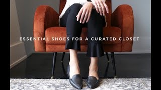 Essential Shoes for a Curated Closet | Minimalism | Capsule Closet