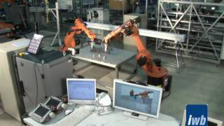 Kooperierende Industrieroboter - iwb