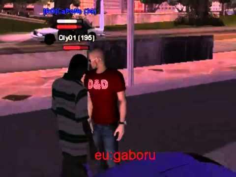 Dani Printul Banatului si Dani Mocanu - Sa ma feresc de garda GTA SAMP version