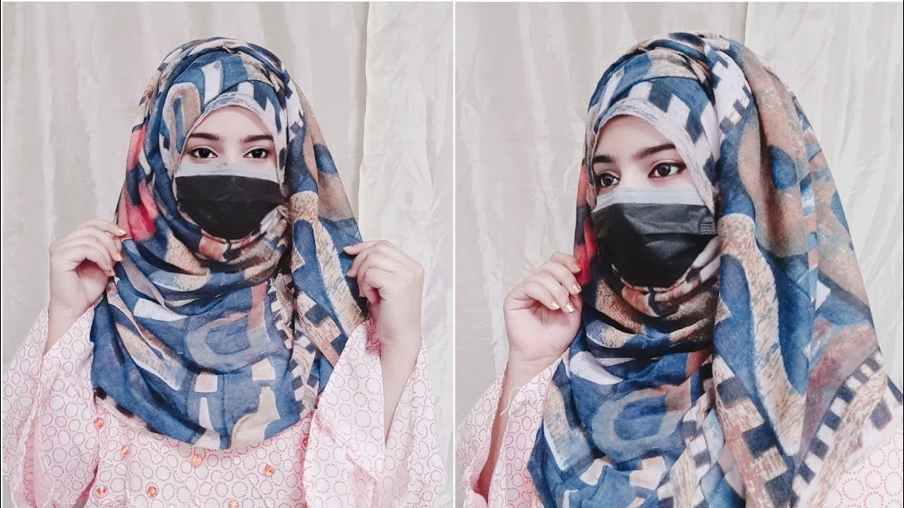 Summer Hijab With Layers Without Inner Cap   Hijab Style 2021  Hijab Tutorial l Hijab Tutorial