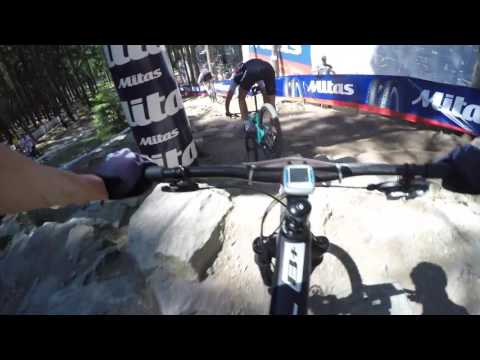 UCI MTB World Cup XCO Nove Mesto na Morave 2017 track POV