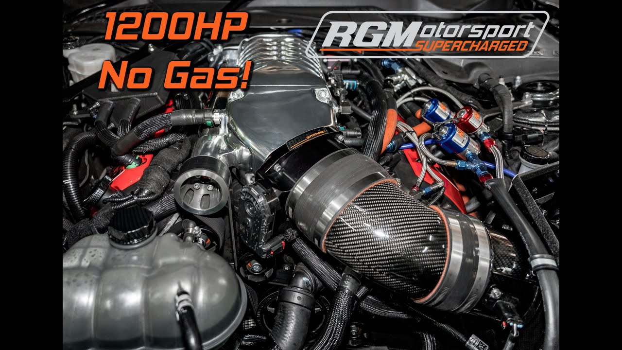 Ford Mustang 5 4l V8 Supercharged
