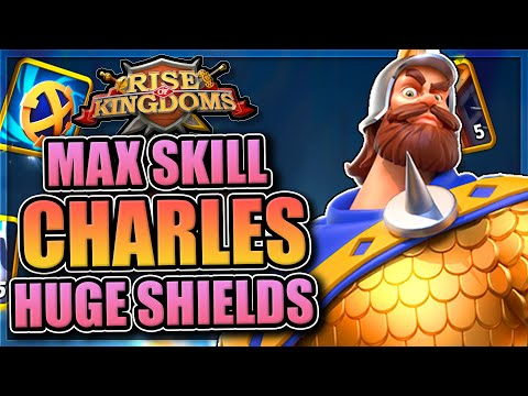 EXPERTISE UNLOCKED - Charles Martel Is An INFANTRY BEAST   Rise Of Kingdoms