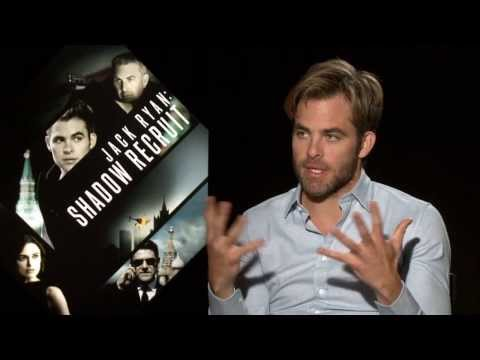 Jack Ryan: Shadow Recruit: Chris Pine Official Movie Interview