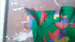 ➑ Sewing Chalks (sides) and bottom edges - ★★Kurti/Kameez with Chinese Collar★★ PUNJABI