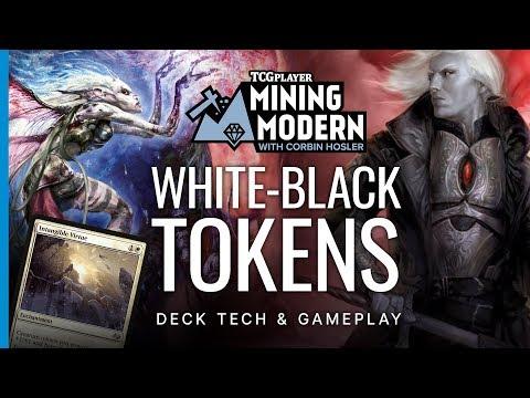 White-Black Tokens   Mining Modern