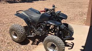 Sold the Chinese atv and bought....???