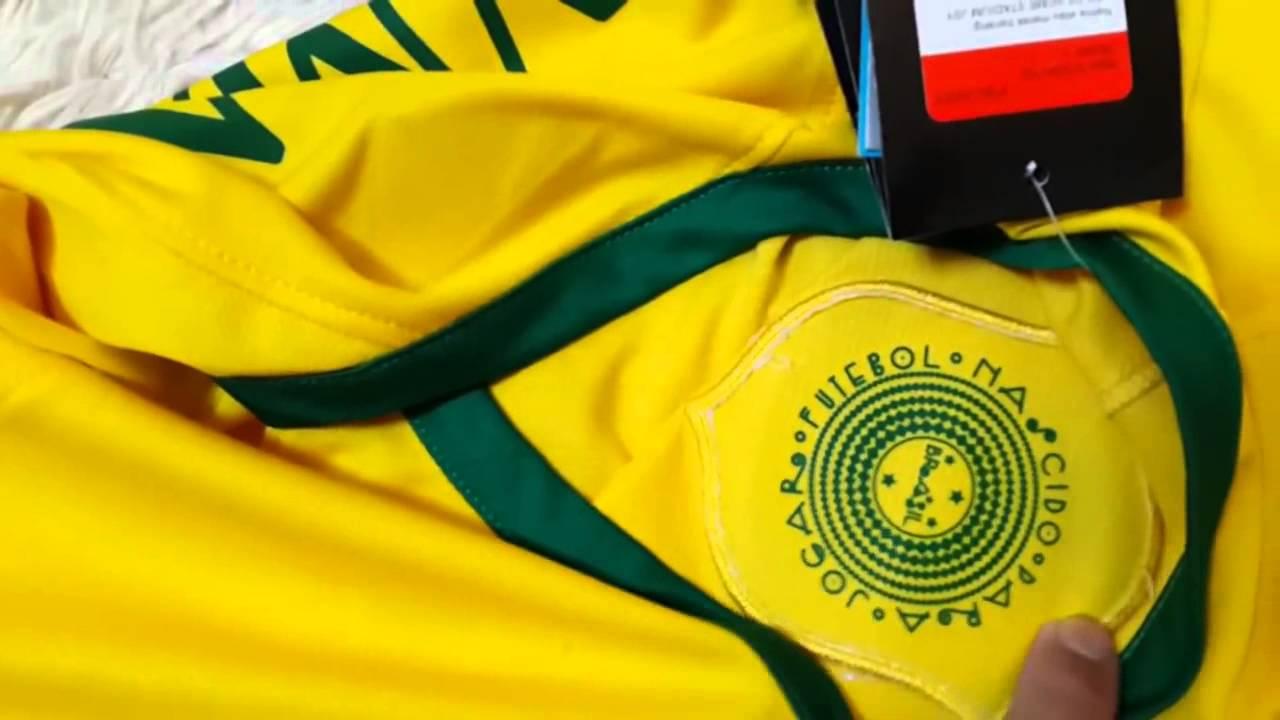 2301ca83ca Camisa Nike Brasil Seleção Brasileira 2014 Oficial Jogador - YouTube