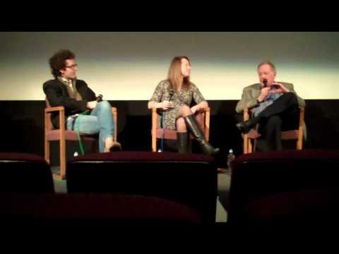 Richard Schickel, Lisa Dombrowski & Sam Wasson at the Aero Theater 03-06-2011