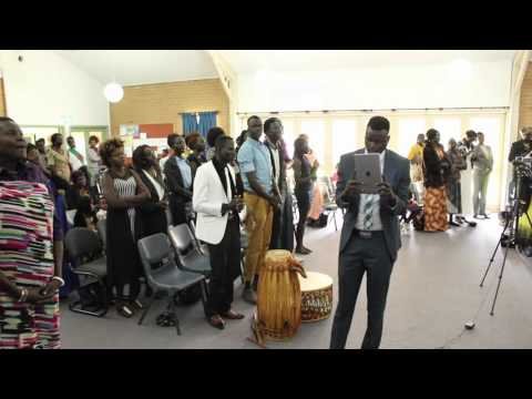 Sydney Church service with Adelaide's Jol wo liec 25 September 2016