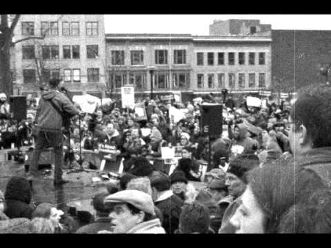 Wisconsin Protests: Tom Morello sings