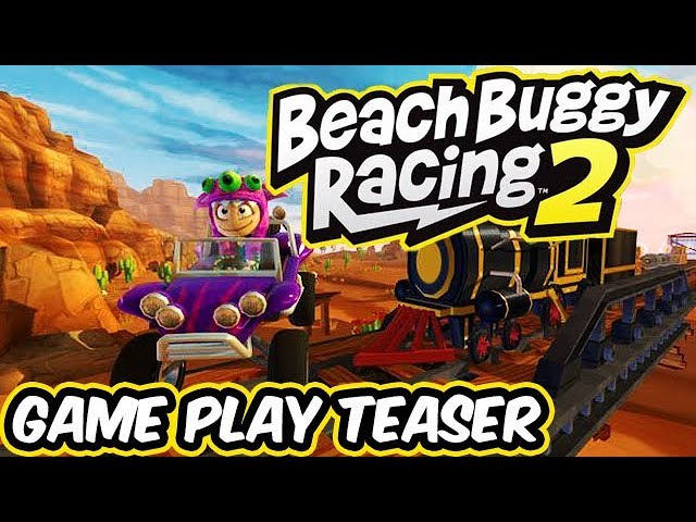 Beach Buggy Racing 2 - Castle Drago and Riptide Gulch - Game Play Teaser