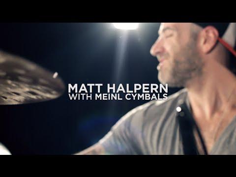 Matt Halpern with Meinl Cymbals