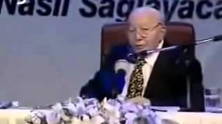 recep tayyip erdoğan kimdir gerekleri necmettin erbakan anlatıyor