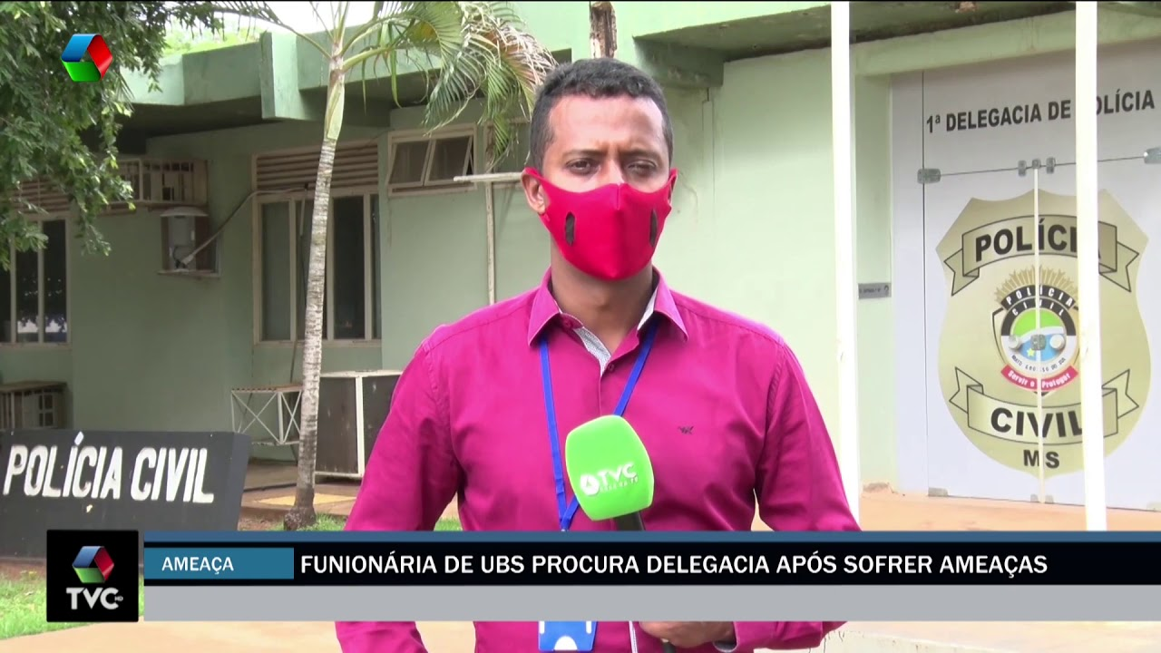 Funcionária de UBS procura delegacia após sofrer ameaças
