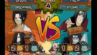 Naruto Shippuden - Ultimate Ninja 5 - Sasuke VS Itachi