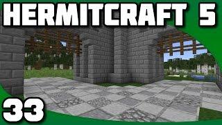 Hermitcraft 5 - Ep. 33: Walls and Roads