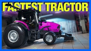 Building The World's Fastest Tractor in Car Mechanic Simulator