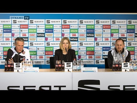 29. Spieltag | EBS - SGD | Pressekonferenz nach dem Spiel