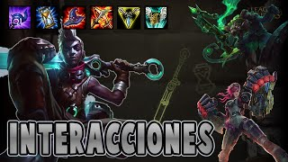 Ekko | Interacciones a campeones y objetos [League of Legends]